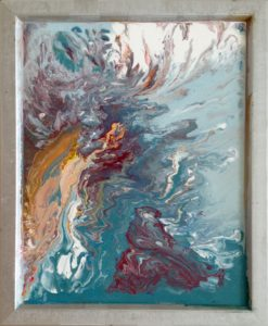 Fluid art - berd